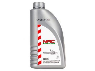 Olej   Preparat do smarowania prowadnic NAC 1L